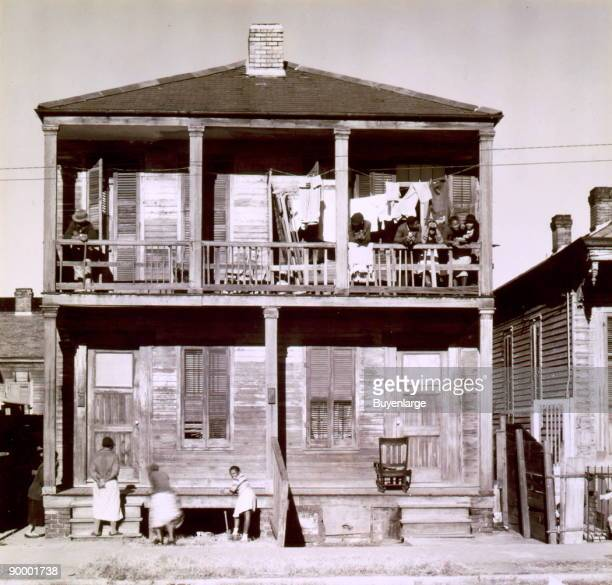 Negro house New Orleans Louisiana