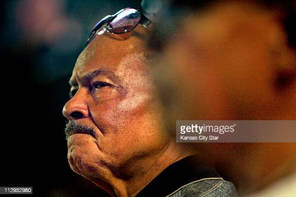 Negro League umpire Bob Motley was in attendance during a news conference on Saturday October 7 for John Buck O'Neil who passed away Friday evening...