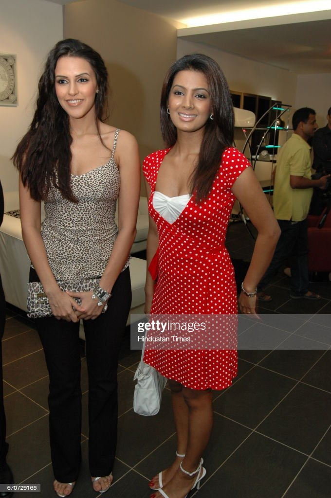 Neha Dhupia and Geeta Basra Stanley Boutique opening at Andheri