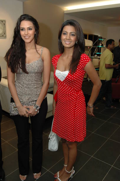 Neha Dhupia and Geeta Basra Stanley Boutique opening at Andheri