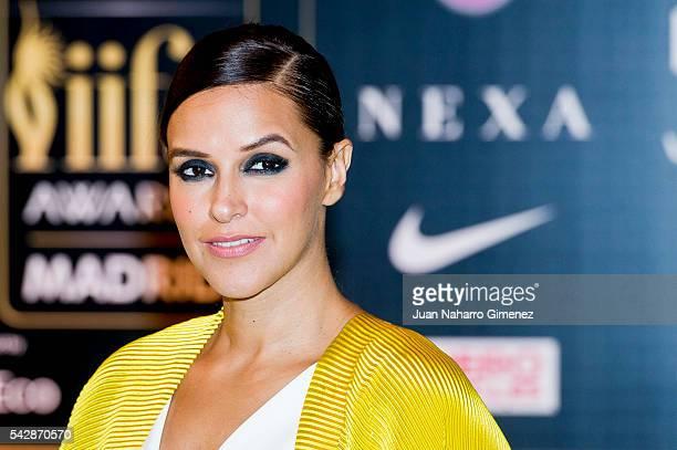 Neha Dhupia attends IIFA Awards 2016 - Rocks Green Carpet at Ifema on June 24, 2016 in Madrid, Spain.