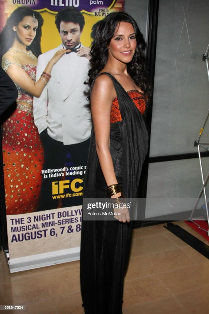 Neha Dhupia attends New York Premiere of IFC`s BOLLYWOOD HERO at The Rubin Museum of Art on August 4 2009 in New York