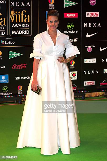 Neha Dhupia attends the 17th IIFA Awards at Ifema on June 25 2016 in Madrid Spain