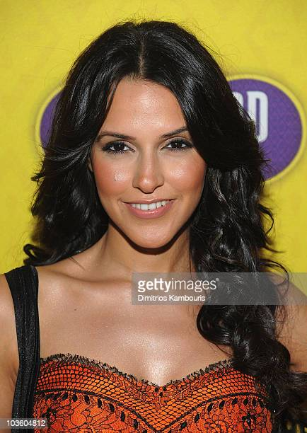 """Neha Dhupia attends the premiere of """"Bollywood Hero"""" at the Rubin Museum of Art on August 4, 2009 in New York City."""