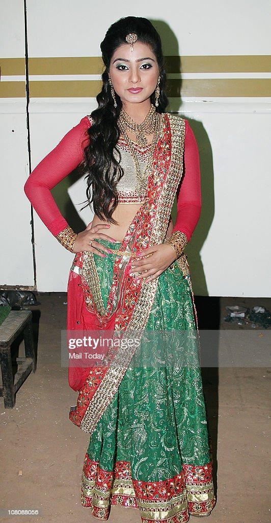 Neha Marda at CID Gallantry Awards 2011 on January 14, 2011