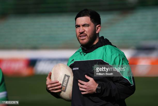 Nehe Milner-Skudder during warmup at the round 10 Mitre 10 Cup match between Manawatu and Counties Manukau at Central Energy Trust Arena on October...