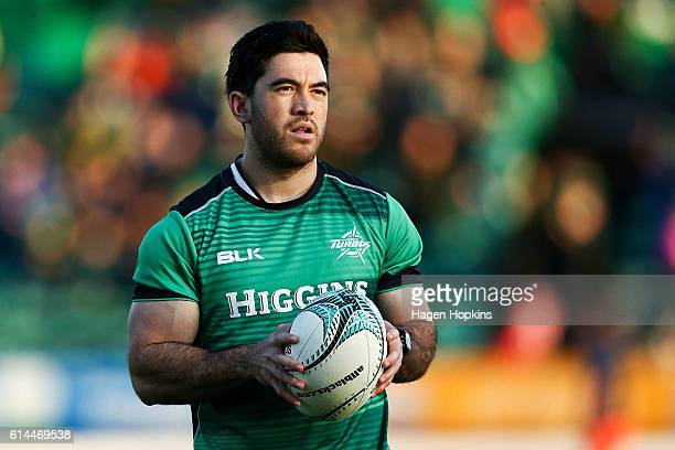 Nehe MilnerSkudder of Manawatu looks on during the round nine ITM Cup match between Manawatu and Otago at Central Energy Trust Arena on October 14...