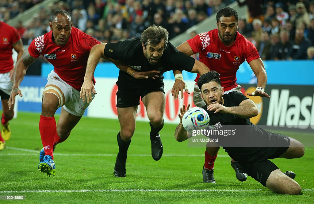 New Zealand v Tonga - Group C: Rugby World Cup 2015 : News Photo
