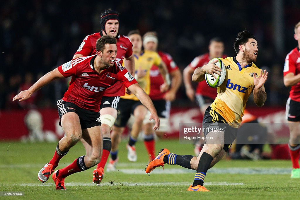 Super Rugby Rd 16 - Crusaders v Hurricanes