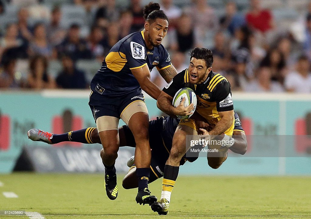 Super Rugby Rd 1 - Brumbies v Hurricanes