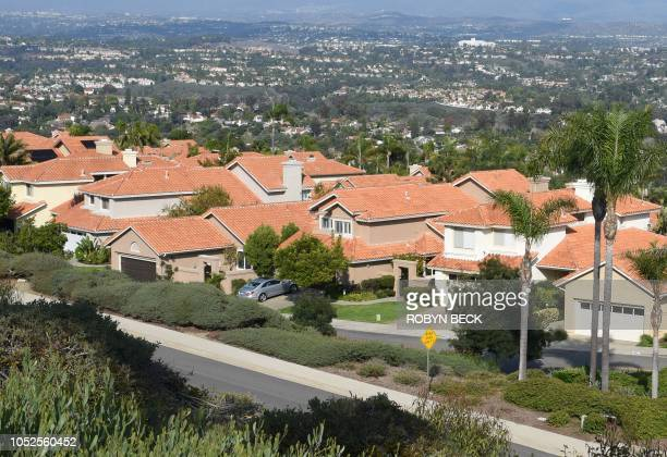 Neighborhood in upscale Laguna Nigel in southern California's Orange County, October 14, 2018. - Amoukhteh, a registered Republican, is supporting a...