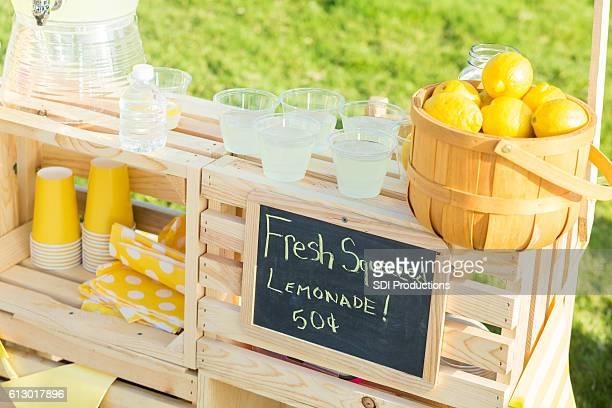 Neighborhood lemonade stand