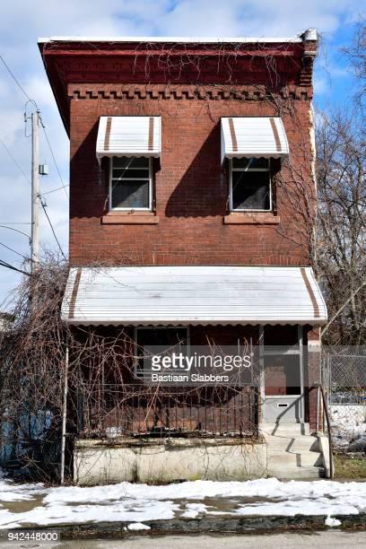 Neighborhood scenes in Strawberry Mansion, Philadelphia, PA