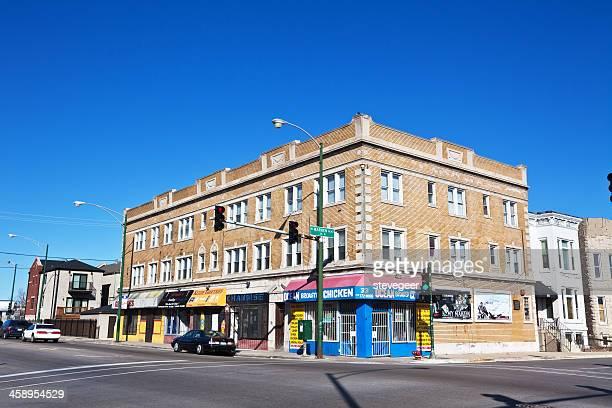 Neighborhood Shops in East Garfield Park, Chicago