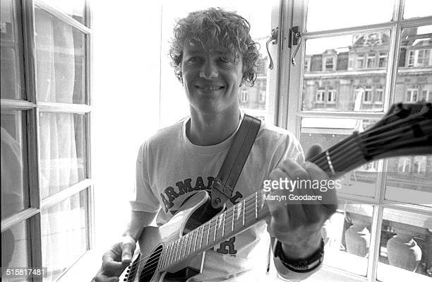 Neighbours actor and musician Craig McLachlan portrait London United Kingdom 1990