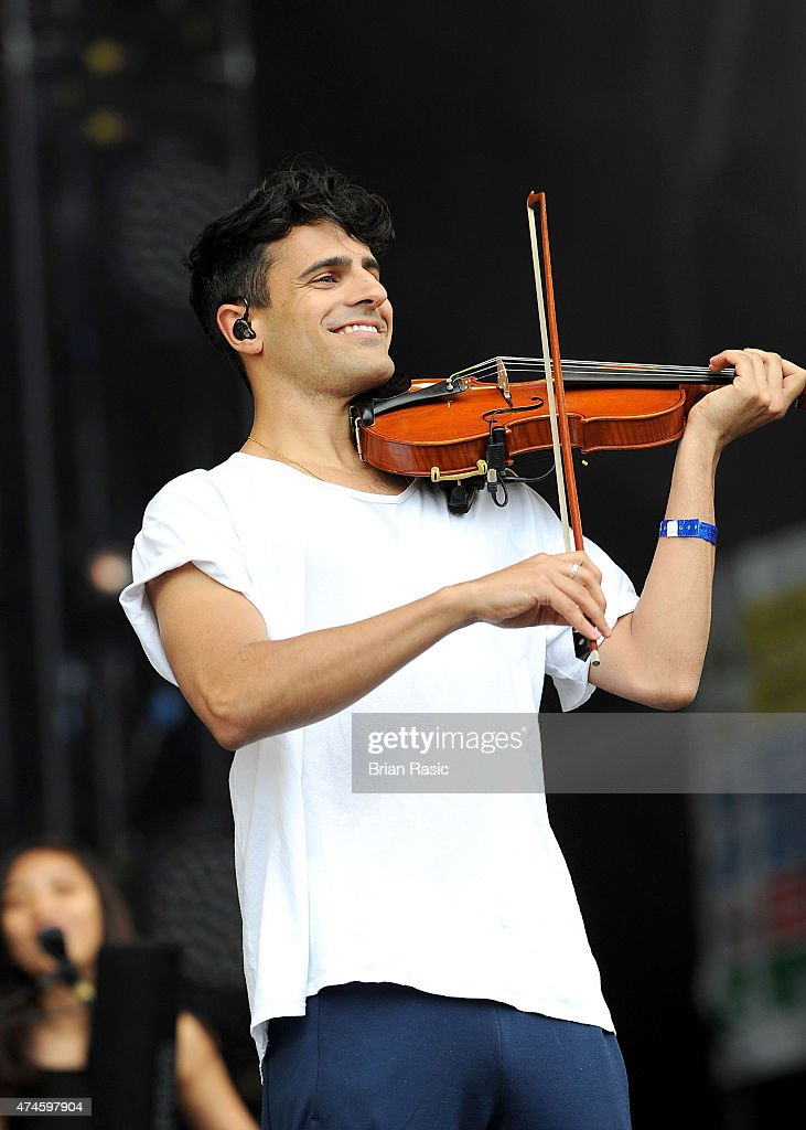 Neil Amin-Smith of Clean Bandit performs on stage on day ...