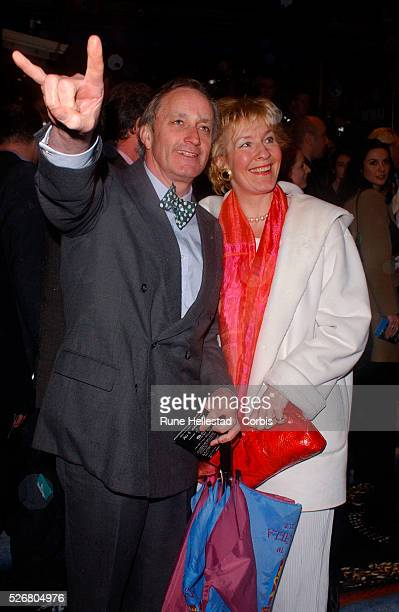 Neil and Christine Hamilton attend the premiere of the movie 'Ali G Indahouse' in London