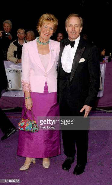 Neil and Christine Hamilton during 2004 British Book Awards at Grosvenor House Hotel in London Great Britain