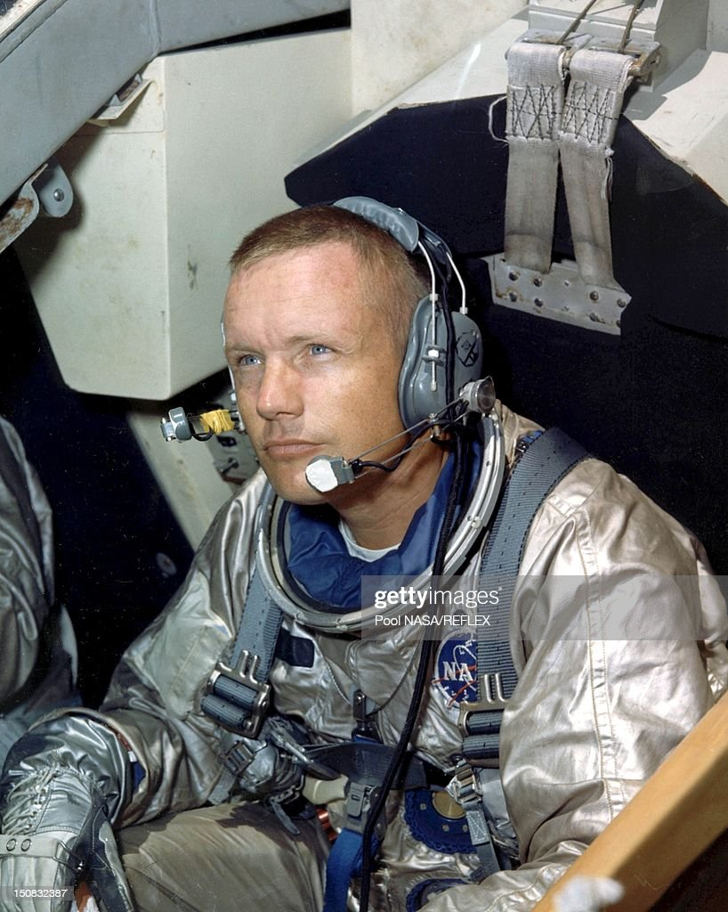 Neil armstrong during training activity in 1966.