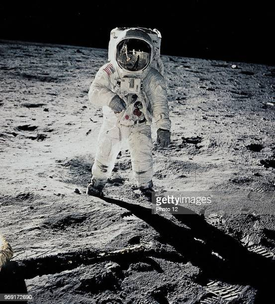 Neil Armstrong from Apollo11 took this picture of his companion Edwin Aldrin