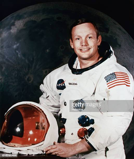 Neil Armstrong mission commander for NASA's Apollo 11 mission to the moon