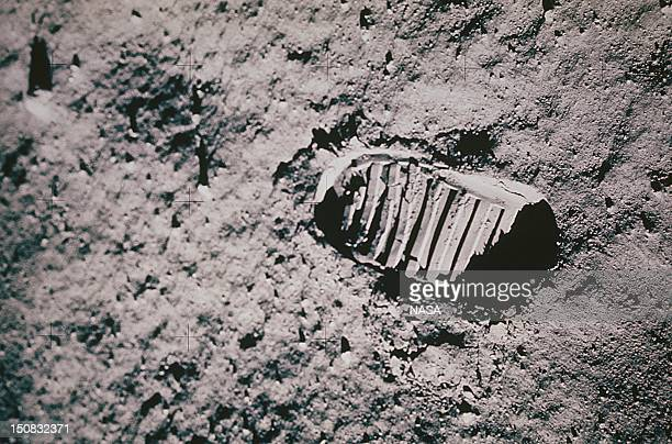 Neil Armstrong's first step on the Moon on July 21 1969
