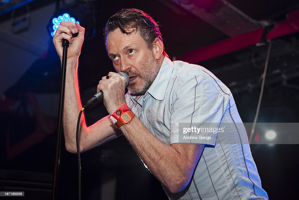 Neil Arthur of Blancmange performs on stage at Sound Control on November 6, 2013 in Manchester, United Kingdom.