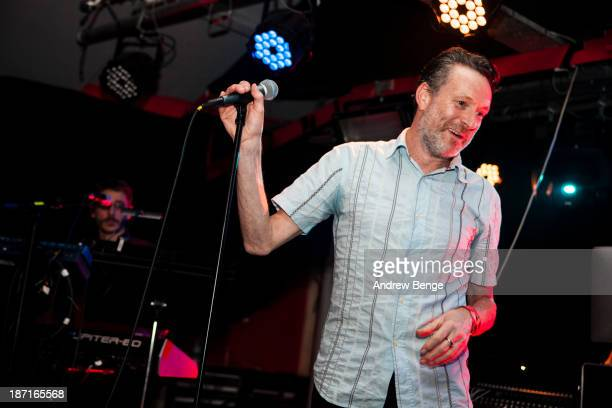 Neil Arthur of Blancmange performs on stage at Sound Control on November 6 2013 in Manchester United Kingdom