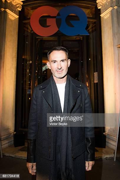 Neil Barrett attends GQ Celebrates Milan Men's Fashion Week during Milan Men's Fashion Week Fall/Winter 2017/18 on December 14 2016 in Milan Italy