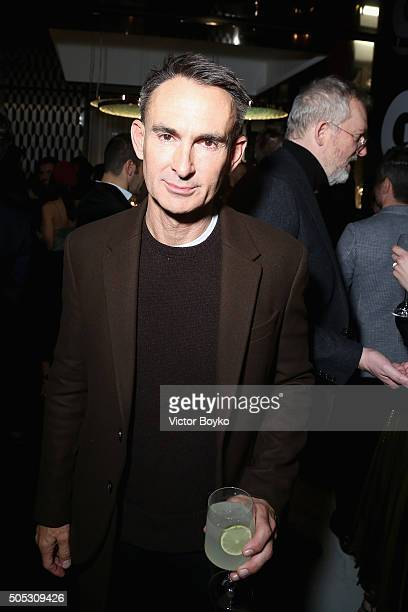 Neil Barrett attends GQ's Celebration of GQ Style EditorInChief Will Welch during Milan Men's Fashion Week Fall/Winter 2016/2017 on January 16 2016...
