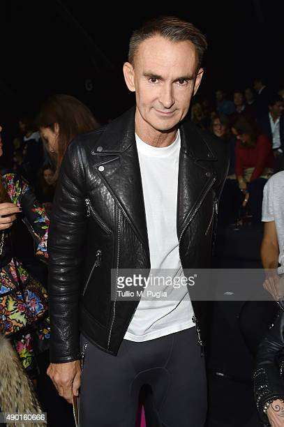 Neil Barrett attends the DSquared2 show during the Milan Fashion Week Spring/Summer 2016 on September 26 2015 in Milan Italy