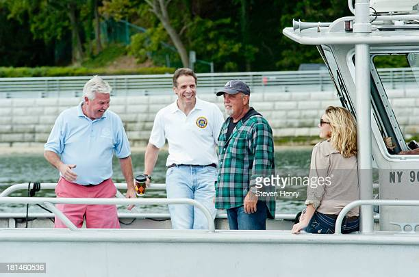 Neil Bergin Oyster Bay Commisioner of Environmental Resources New York State Governor Mario Cuomo Billy Joel and Alexis Roderick attend Friends Of...