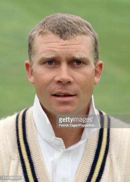 Neil Burns of Warwickshire before the Benson and Hedges Cup Semi Final between Surrey and Warwickshire at The Oval London 7th June 1994