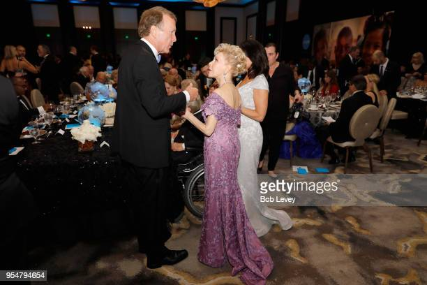Neil Bush and Margaret Alkek Williams attend the Fifth Annual UNICEF Gala Houston 2018 at The Post Oak Houston on May 4 2018 in Houston Texas