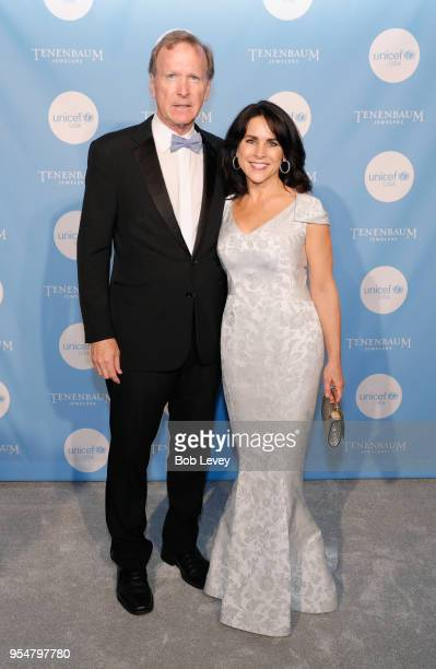 Neil Bush and Maria Bush attend the Fifth Annual UNICEF Gala Houston 2018 at The Post Oak Houston on May 4 2018 in Houston Texas