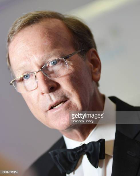 Neil Bush chairman of the Points of Light board of directors and son of President George HW Bush appears on the red carpet at the 2017 Points of...