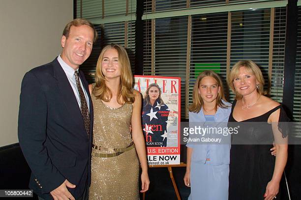 Neil Bush Lauren Bush Ashley Bush and Sharon Bush