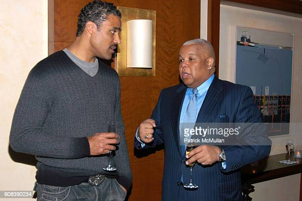Neil Carter attends SPIKE LEE Celebrates 50th Birthday with KRUG Champagne at DANIEL on March 19 2007 in New York City