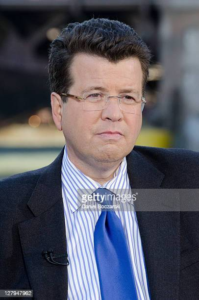 """Neil Cavuto during """"Cavuto"""" on Fox Business Network live from the River Walk at Trump International Hotel & Tower on October 3, 2011 in Chicago,..."""