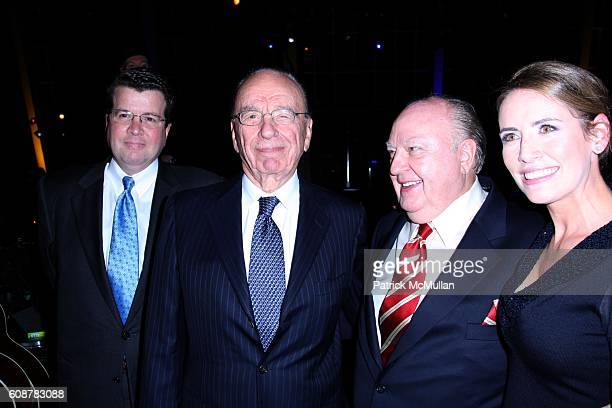 Neil Cavuto, Rubert Murdoch, Roger Ailes and attend A Celebration for the Launch of THE FOX BUSINESS NETWORK at Temple of Dendur on October 24, 2007...