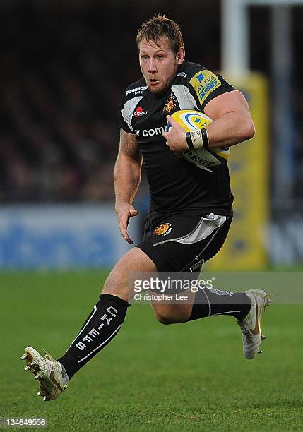 Neil Clark of Exeter Chiefs during the AVIVA Premiership match between match between Exeter Chiefs and Worcester Warriors at Sandy Park on December 3...