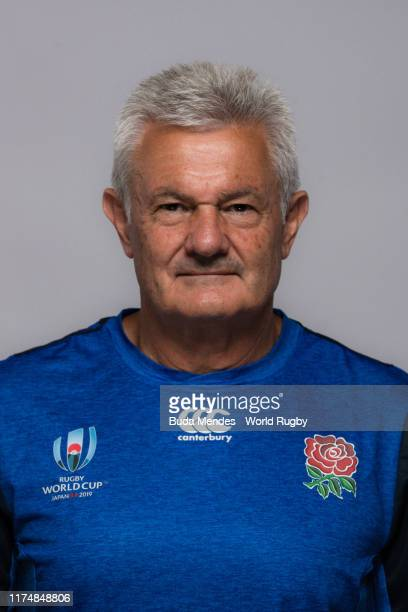 Neil Craig of The England backroom staff poses for a portrait during the England Rugby World Cup 2019 squad photo call on September 15, 2019 in...