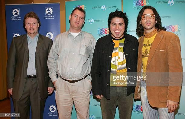 Neil Crilly, Executive Director, Florida Chapter of The Recording Academy, Jason Klein, Eduardo Osorio and Jorge Moreno