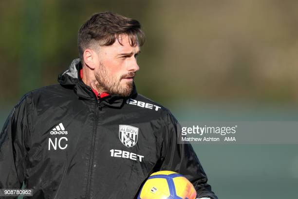 Neil Cutler First Team goalkeeping coach of West Bromwich Albion during a West Bromwich Albion Training Session on January 22 2018 in West Bromwich...