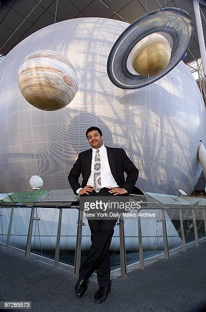 Neil de Grasse Tyson director of the new Hayden Planetarium at the Rose Center for Earth and Space at the American Museum of Natural History Central...