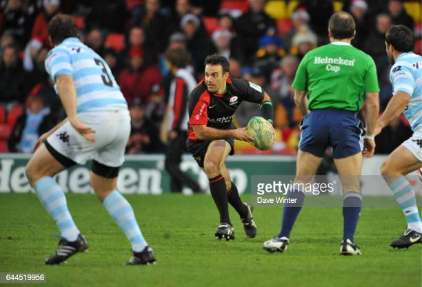 Neil DE KOCK Saracens / Racing Metro 92 H Cup 3e journee Groupe 2 Vicarage Road Watford Photo Dave Winter / Icon Sport