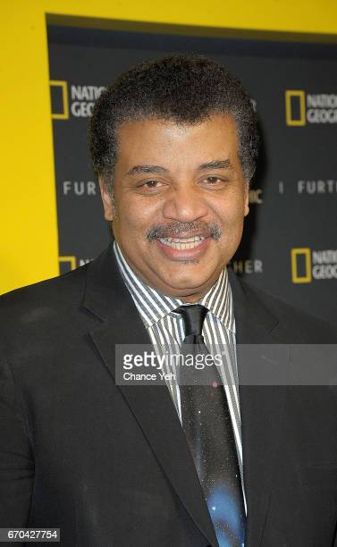 Neil deGrasse Tyson attends National Geographic FURTHER FRONT at Jazz at Lincoln Center's Frederick P Rose Hall on April 19 2017 in New York City