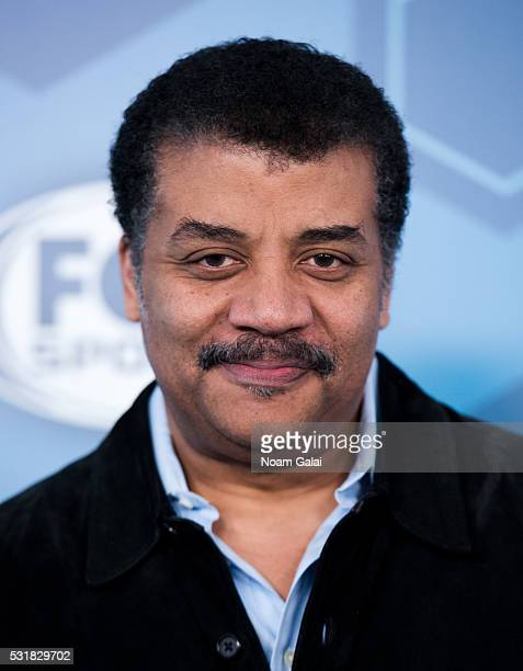 Neil deGrasse Tyson attends the 2016 Fox Upfront at Wollman Rink Central Park on May 16 2016 in New York City