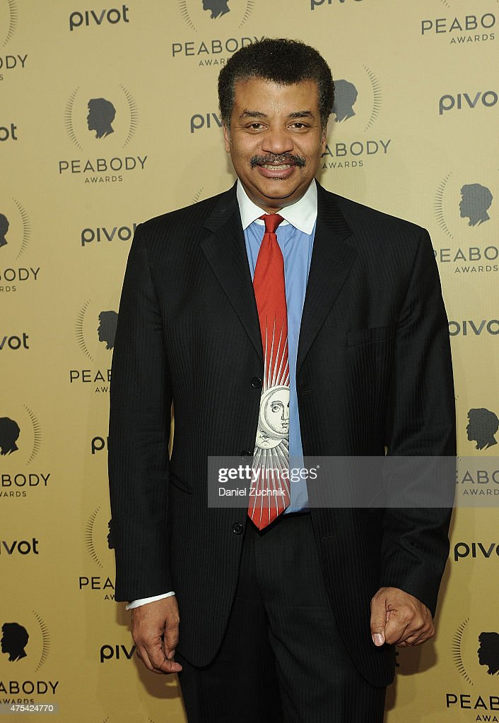 Neil deGrasse Tyson attends The 74th Annual Peabody Awards Ceremony at Cipriani Wall Street on May 31, 2015 in New York City.