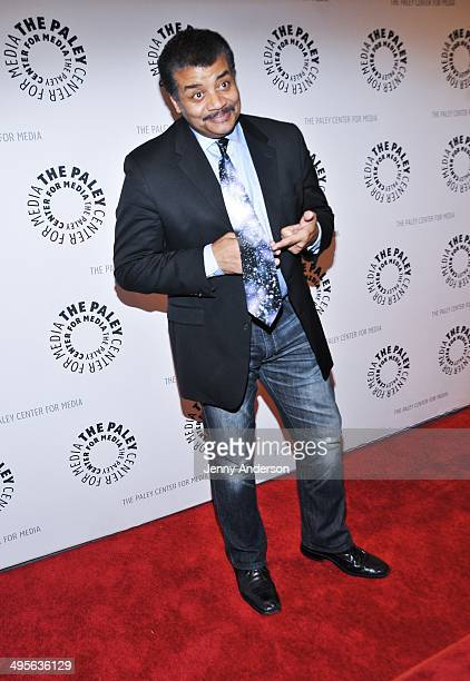 Neil deGrasse Tyson attends the Cosmos A SpaceTime Odyssey Unafraid Of The Dark Final Episode Screening at The Paley Center for Media on June 4 2014...
